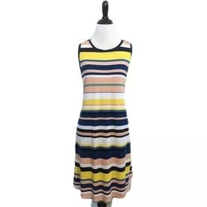 NEW Sleeveless Striped Dress from LOFT Outlet